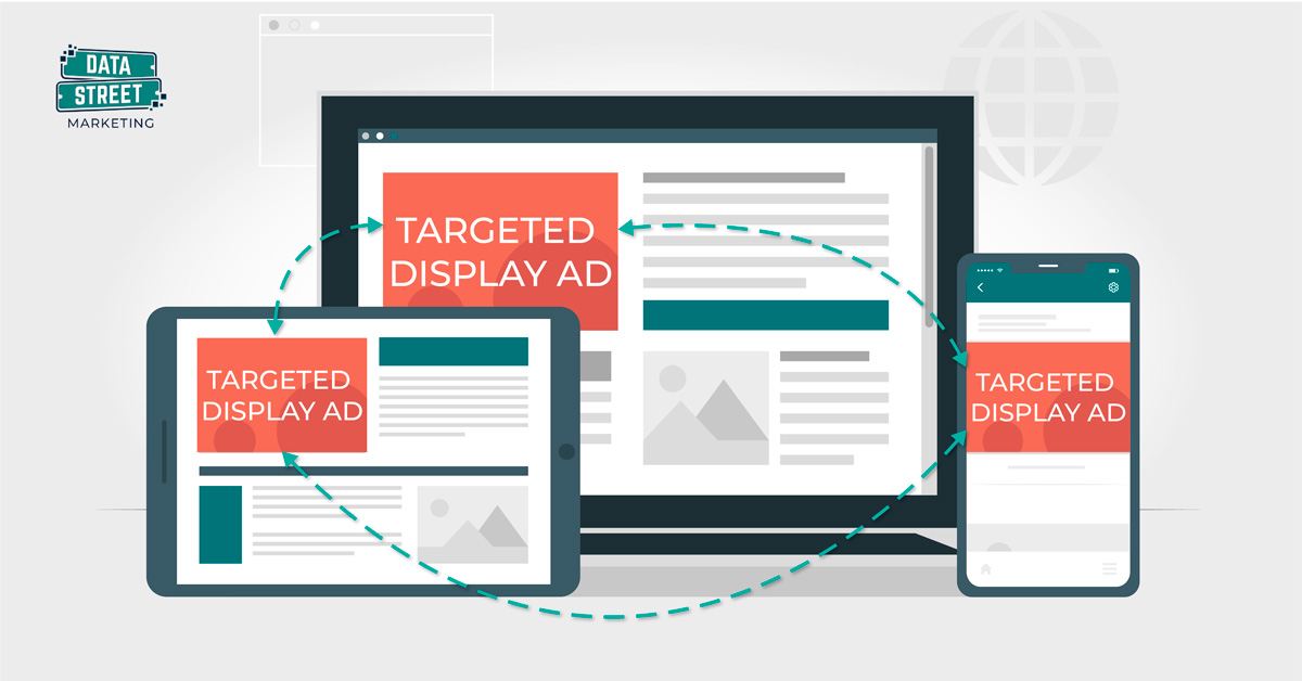 Targeted Display Advertising Graphic by Data Street Marketing in Mississippi